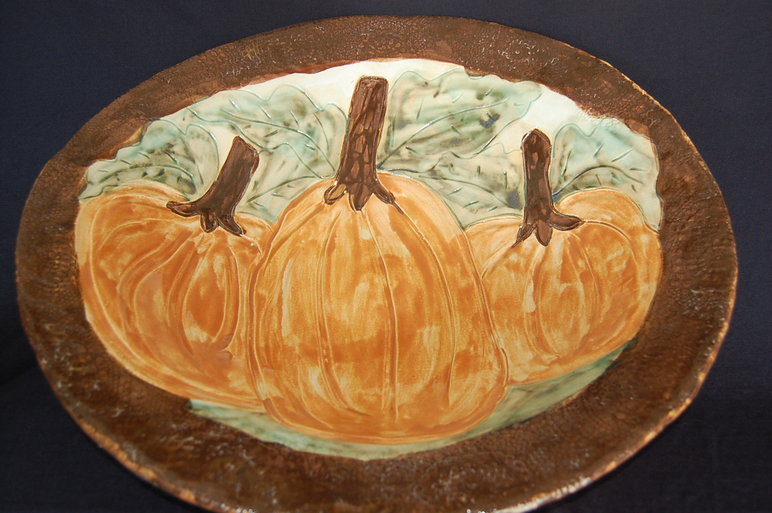 Huge Pumkin Bowl