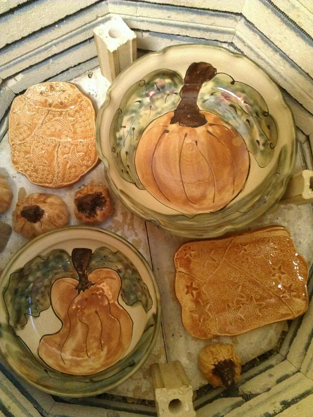 Pumpkin pottery