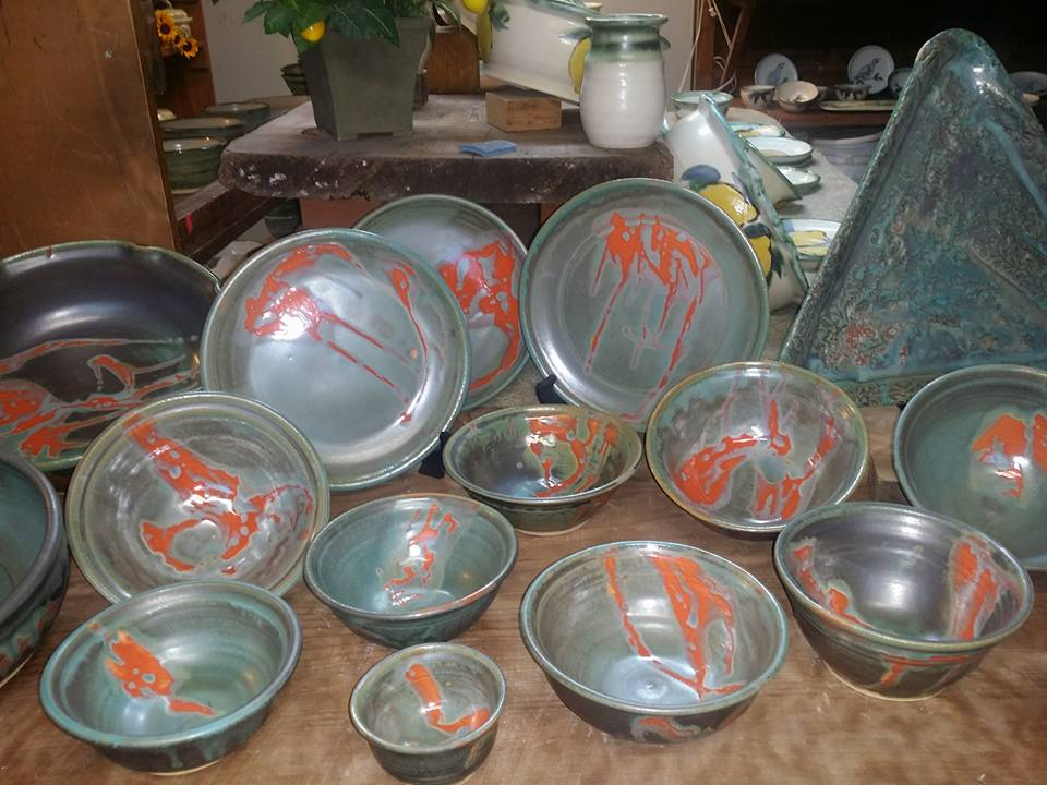 pottery-with-orange-accent